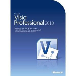 Photo of Microsoft Visio Professional 2010 Software