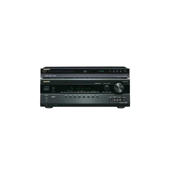 Onkyo TXSR508 AV Receiver & Onkyo BDSP308 Blu Ray Player