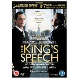 The King's Speech DVD (12) Reviews