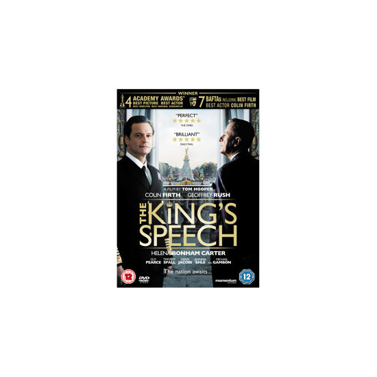 The King's Speech DVD (12)