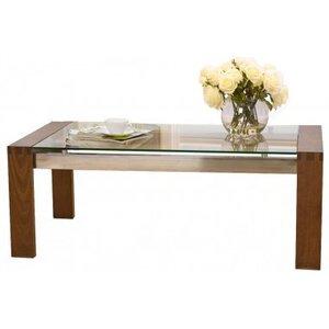 Photo of Mark Harris Roma Walnut Coffee Table With Glass Top Furniture