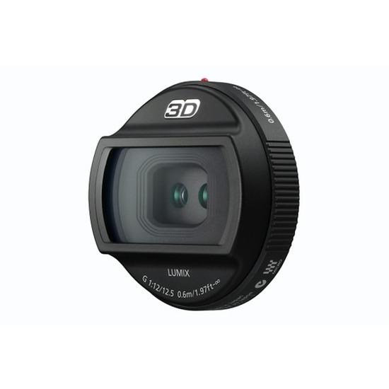 Panasonic H-FT012E Lumix G 12.5 mm f/12 3D Lens