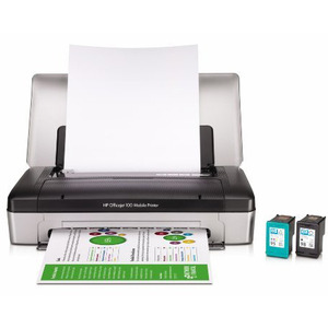 Photo of HP Officejet 100 Mobile Bluetooth INKJET Printer Printer