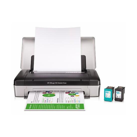 HP Officejet 100 mobile bluetooth inkjet printer