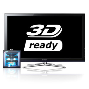 "Photo of Samsung PS50C490 50"" 3D Plasma TV With Samsung Monsters Vs. Aliens 3D Starter Kit Television"