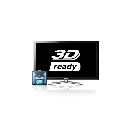 "Samsung PS50C490 50"" 3D Plasma TV with Samsung Monsters Vs. Aliens 3D Starter Kit"
