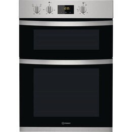 Indesit KDD33401X Electric Built Double Oven Stainless Steel Reviews