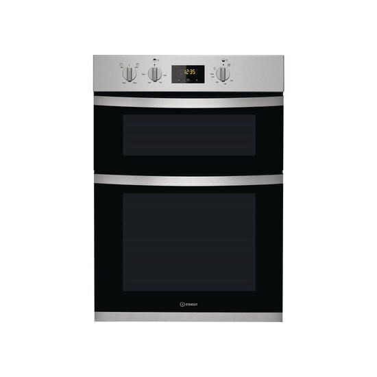Indesit KDD33401X Electric Built Double Oven Stainless Steel