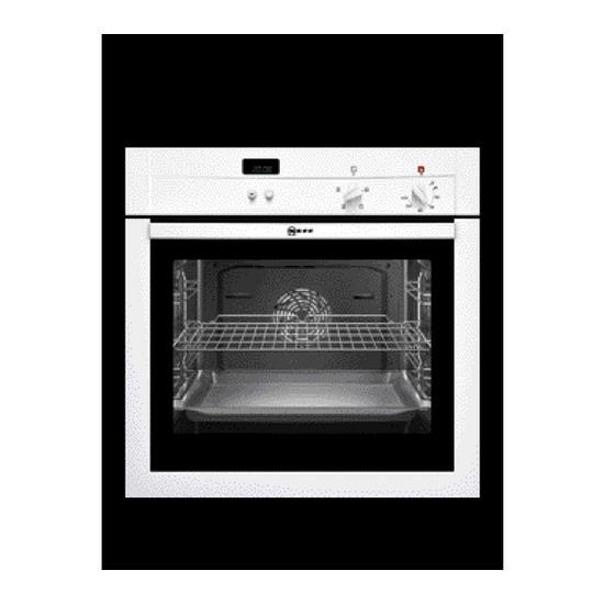 Neff Series 1 B14M42W0GB Electric Oven - White