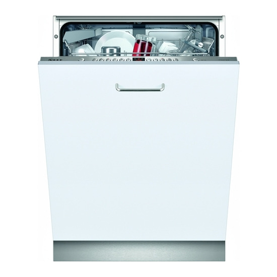 Neff S72M63X2GB Standard Fully Integrated Dishwashers