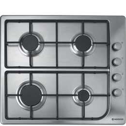 Hoover HGL 64SX Gas Hob - Stainless Steel Reviews