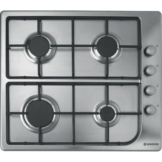 Hoover HGL 64SX Gas Hob - Stainless Steel