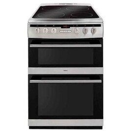 AMICA AFC6550SS 60 cm Electric Ceramic Cooker - Stainless Steel Reviews