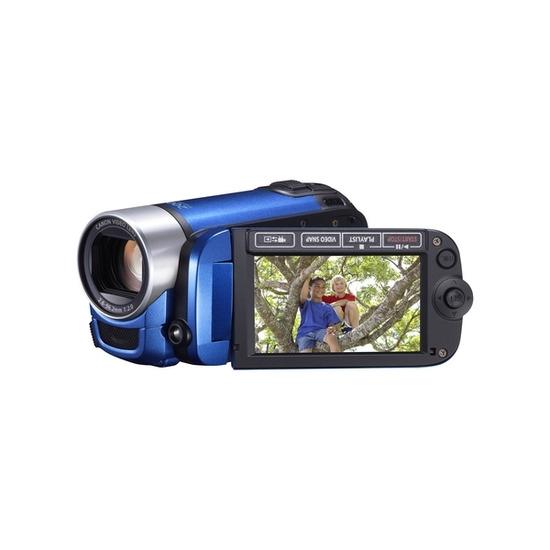 Canon Legria FS406 Camcorder - Blue