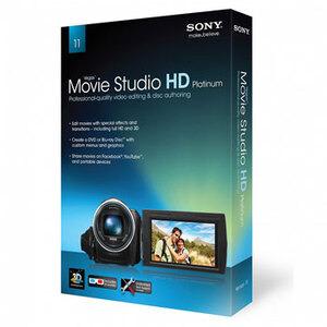 Photo of Sony Vegas Movie Studio HD Platinum 11 Software