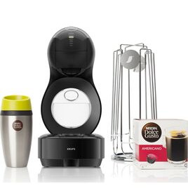 Dolce Gusto by Krups Lumio KP138BUN Coffee Machine Travel Kit - Black Reviews