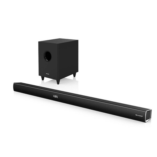 Sharp HT-SBW260 600W 3.1 slim soundbar with wireless subwoofer