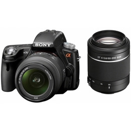Sony Alpha SLT-A35Y with 18-55mm and 55-200mm lenses Reviews