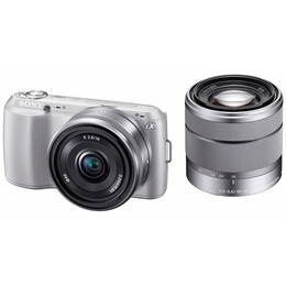 Sony Alpha NEX-C3D with 16mm and 18-55mm lenses Reviews