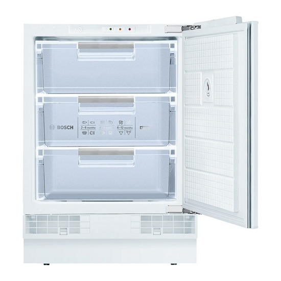 BOSCH GUD15A50GB Built-in Undercounter Freezer - White