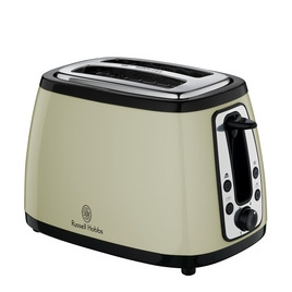Russell Hobbs Heritage Farmhouse 18259 2-Slice Toaster - Country Cream Reviews