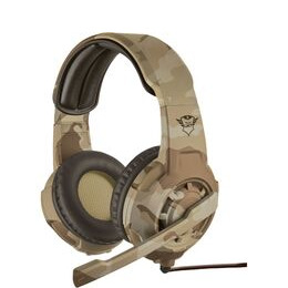 TRUST GXT 310D Radius Gaming Headset - Desert Camouflage Reviews