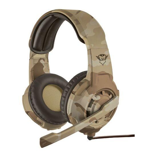 TRUST GXT 310D Radius Gaming Headset - Desert Camouflage