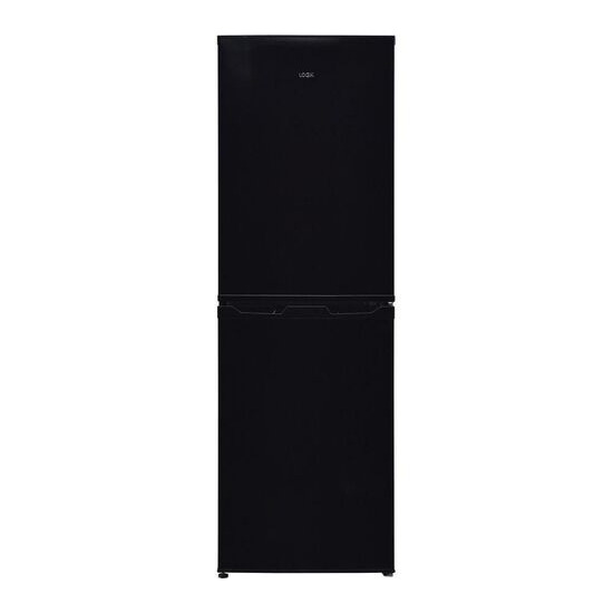 LOGIK LFC50B18 50/50 Fridge Freezer - Black