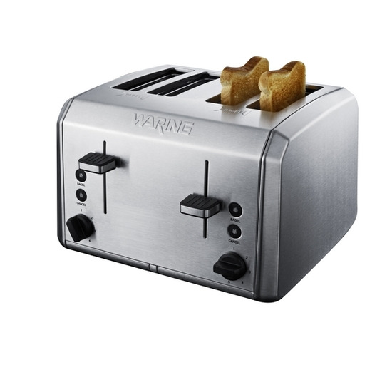 WARING WT400U 4-Slice Toaster - Stainless Steel