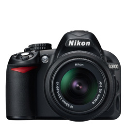 Nikon D3100 with 18-55mm lens Reviews