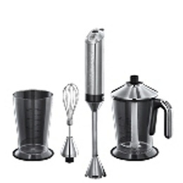 Russell Hobbs 18274 Allure 3-in-1 Hand Blender - Chrome & Black