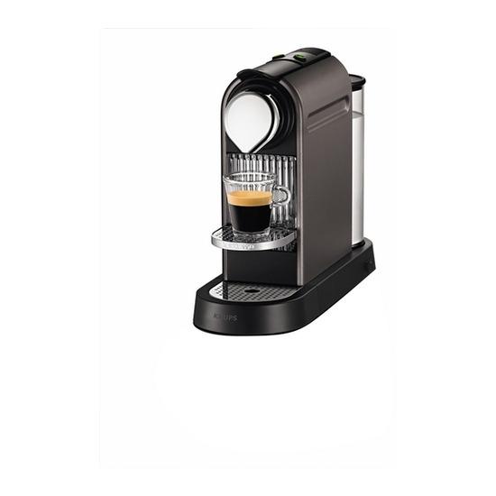 Krups CITIZ TITANIUM Coffee Maker - Grey