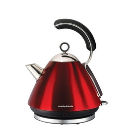 Morphy Richards 43886 Cordless Kettle - Translucent Red Stainless Steel Reviews