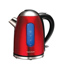 Morphy Richards 43916 Meno Cordless Kettle - Translucent Red Stainless Steel Reviews