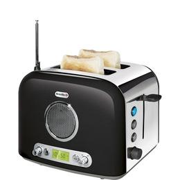 Breville VTT296 Radio 2-Slice Toaster - Black and Polished Steel Reviews