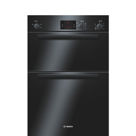 BOSCH Avantixx HBM13B261B Built-in Electric Double Oven - Black Reviews