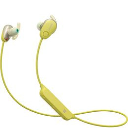 Sony WI-SP600NY Wireless Bluetooth Noise-Cancelling Headphones - Yellow