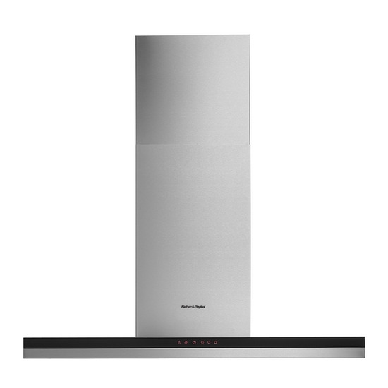 FISHER & PAYKEL HC90DCXB1 Canopy Hood - Stainless Steel