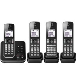 Panasonic KX-TGD624EB Cordless Phone - Quad Handsets Reviews