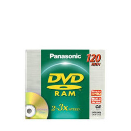 Panasonic 4.7GB DVD-RAM Blank Disc in Jewel Case Reviews