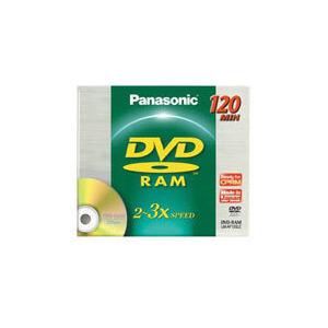 Photo of Panasonic 4.7GB DVD-RAM Blank Disc In Jewel Case DVD RAM