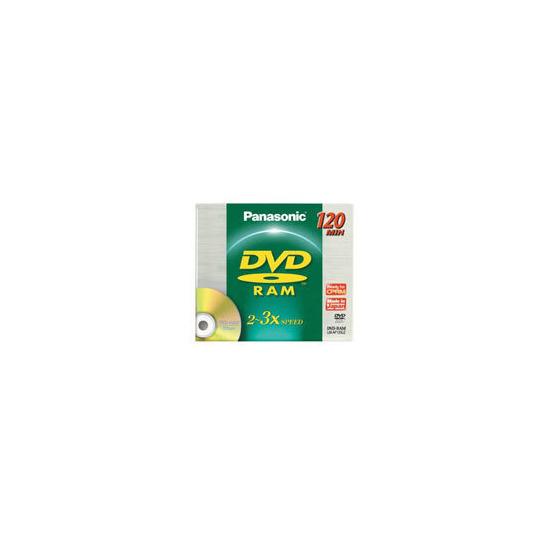 Panasonic 4.7GB DVD-RAM Blank Disc in Jewel Case