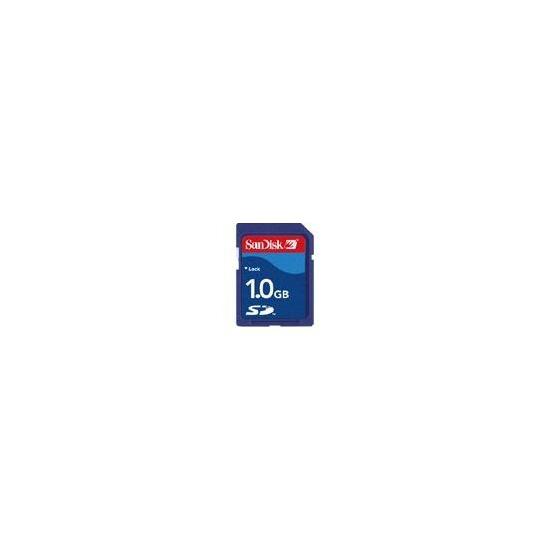 SANDISK 1GB SECURE DIGITAL CARD