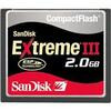Photo of Sandisk SDCFX3 2048 902 Memory Card