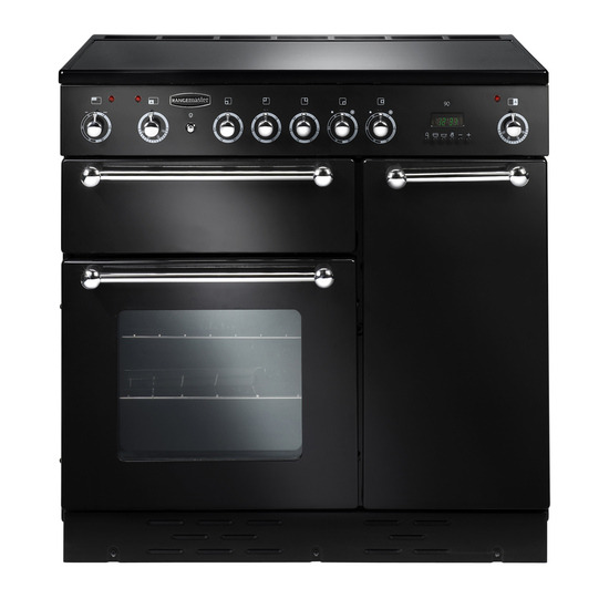 Rangemaster 90 Dual Fuel with Ceramic hob