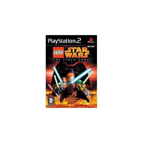 Lego Star Wars: The Video Game [Platinum] (PS2)