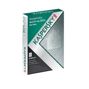 Photo of Kaspersky Antivirus 2011 (Mac) Software