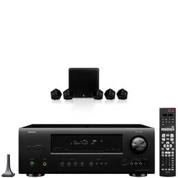 Boston Acoustics SoundWare XS 5.1 and Denon AVR-1612 Bundle With Free Cable Pack