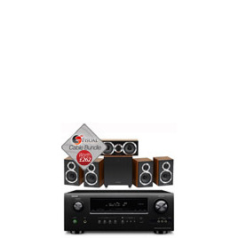 Wharfedale Diamond 10.SX HCP 5.1 Speakers And Denon AVR-1912 Bundle With Fisual Cable Pack