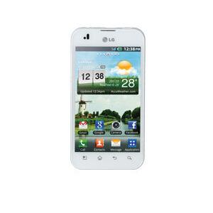 Photo of LG Optimus White Mobile Phone